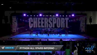 Python All Stars Inferno Pythons [2021 Junior 3] 2021 CHEERSPORT: Atlanta Grand Championship