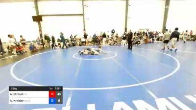 55 kg Prelims - Alexis Stroud, Hammer Chicks vs Anna Kreider, Wrestle Like A Girl 1