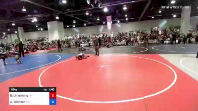 86 kg Quarterfinal - Benjamin Limentang, Tuf California Wr Ac vs Adrian Windsor, Mat Demon WC