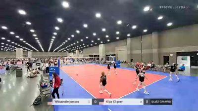 Wisconsin juniors vs Kiva 13 gray - 2021 JVA World Challenge presented by Nike