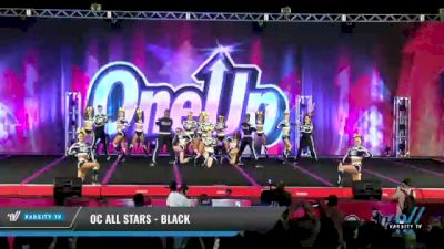 OC All Stars - Black [2021 L6 Senior Coed Open - Small Day 2] 2021 One Up National Championship