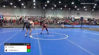 125 lbs Prelims - Joey Prata, Virginia Tech vs Devin Schroder, Purdue