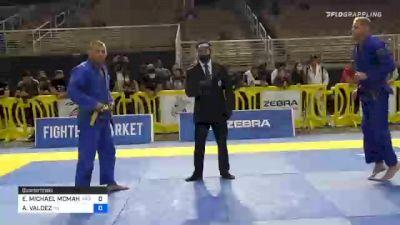 ERIC MICHAEL MCMAHON vs ABRAM VALDEZ 2020 World Master IBJJF Jiu-Jitsu Championship