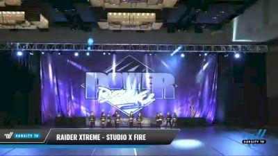 Raider Xtreme - Studio X Fire [2021 Mini - Hip Hop Day 2] 2021 ACP Power Dance Nationals & TX State Championship