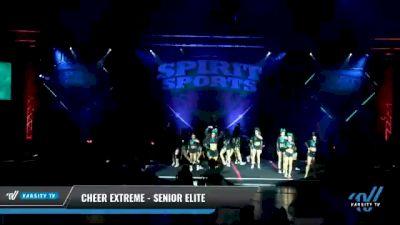 Cheer Extreme - Kernersville - Senior Elite [2021 L6 Senior - Large Day 2] 2021 Spirit Sports: Battle at the Beach