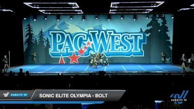 Sonic Elite Olympia - Bolt [2020 L2 Junior - Small Day 1] 2020 PacWest