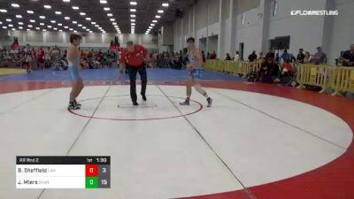 138 lbs Rr Rnd 2 - Brandon Sheffield, Law vs Jonathan Miers, Team Shutt Nation