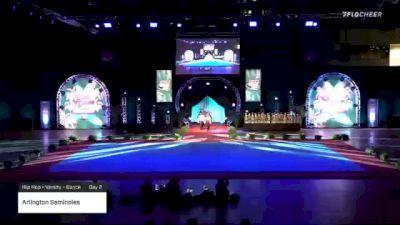 Arlington Seminoles [2020 Hip Hop - Varsity - Dance Day 2] 2020 Pop Warner National Cheer & Dance Championship