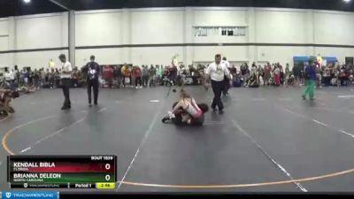132 lbs Round 4 - Kendall Bibla, Florida vs Brianna Deleon, North Carolina