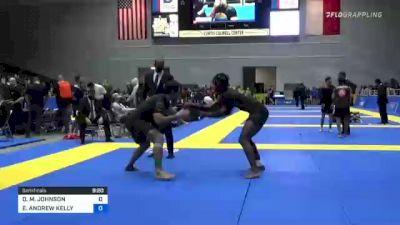 DEVHONTE M. JOHNSON vs ELIOT ANDREW KELLY 2021 World IBJJF Jiu-Jitsu No-Gi Championship