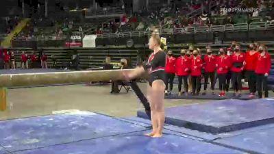 Jolie Miller - Beam, Southeast Missouri State University - 2021 GymQuarters Invitational