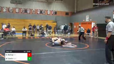 160 lbs Consolation - Gage Bishop, Biglerville vs Will Davis, Newport