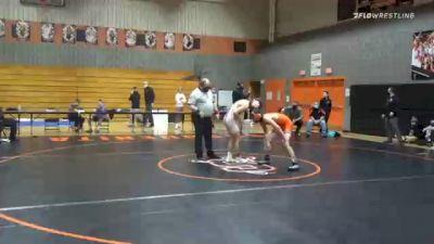 132 lbs Final - Brennan Schisler, Bermudian Springs vs Dominic Caldwell, Susquenita