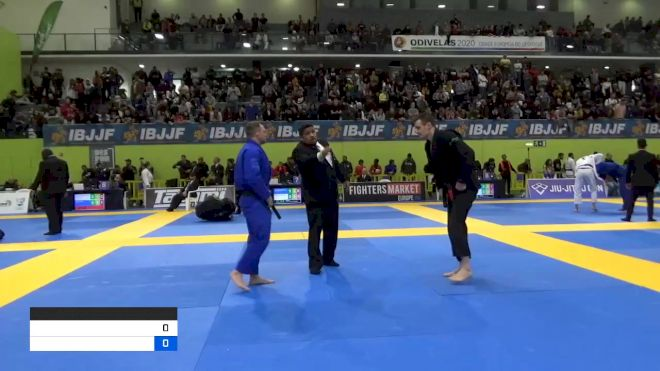 ANDY NICOLAAS VIRGENIE PETERS vs CHARLES MATTHEW MCDONALD 2020 European Jiu-Jitsu IBJJF Championship