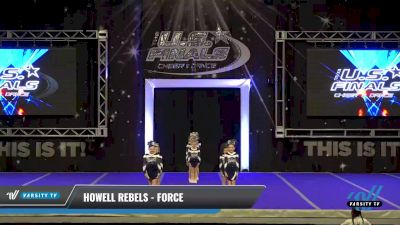 Howell Rebels - FORCE [2021 L1 Performance Recreation - 8 and Younger (AFF) Day 1] 2021 The U.S. Finals: Ocean City