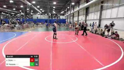 140 lbs Rr Rnd 1 - Jayden Zajac, The Funky Singlets vs Wyatt Hoppes, Elite Athletic Club