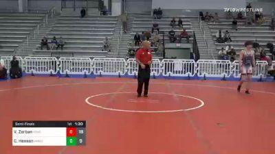160 lbs Semifinal - Vincent Zerban, Team Kong United vs Caleb Henson, Minion Legends