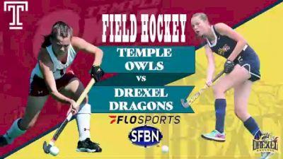 Replay: Temple vs Drexel | Aug 29 @ 12 PM
