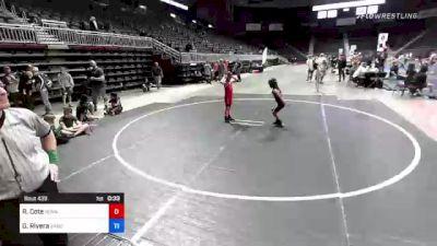 109 kg Final - Ridge Cote, Ronan vs Geronimo Rivera, Sanderson Wr Ac