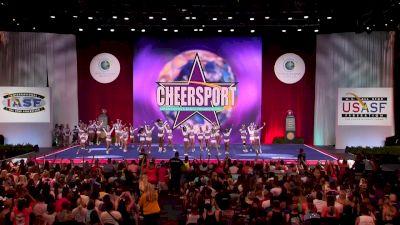 The Stingray All Stars Marietta - Orange [2018 Senior Large All Girl Finals] The Cheerleading Worlds