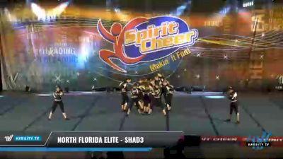 North Florida Elite - Shad3 [2021 L3 Senior Coed - D2 Day 2] 2021 South Florida DI & DII Nationals