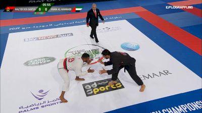Walter Dos Santos vs Yahia Al Hammadi Abu Dhabi World Professional Jiu-Jitsu Championship