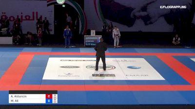 Alexis Alduncin vs Mohd Ali Hayat Abu Dhabi World Professional Jiu-Jitsu Championship