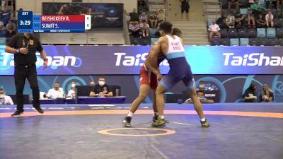 60 kg 1/2 Final - Razzak Beishekeev, Kyrgyzstan vs Sumit Sumit, India
