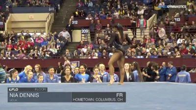 Nia Dennis - Floor, UCLA - Metroplex Challenge (NCAA)