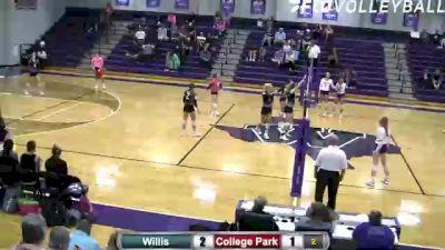 Replay: College Park vs Willis | Oct 12 @ 6 PM