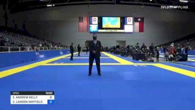 CLAY LANDON MAYFIELD vs ELIOT ANDREW KELLY 2021 World IBJJF Jiu-Jitsu No-Gi Championship