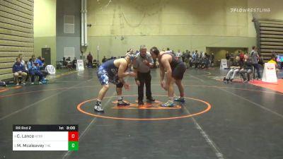 Prelims - Christian Lance, Nebraska vs Michael Mcaleavey, The Citadel