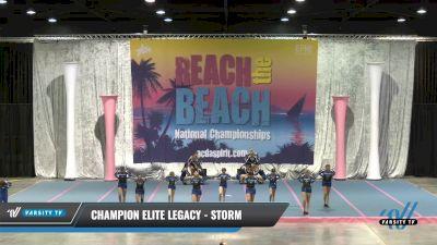 Champion Elite Legacy - Storm [2021 L3 Junior - Small] 2021 Reach the Beach Daytona National
