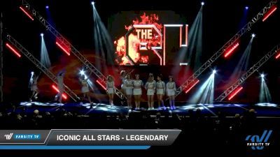 Iconic All Stars - Legendary [2020 L6 International Open - NT - Coed Day 1] 2020 GLCC: The Showdown Grand Nationals