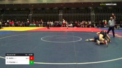 197 lbs Round Of 32 - Darryl Aiello, Clackamas vs Tanner Fischer, Southern Oregon