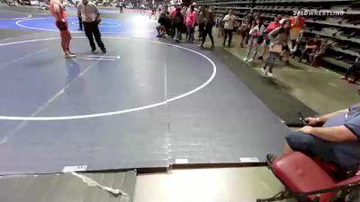 160 lbs Consolation - Donavin Warson, Cry Wolf vs Jacob Romero, Pirates