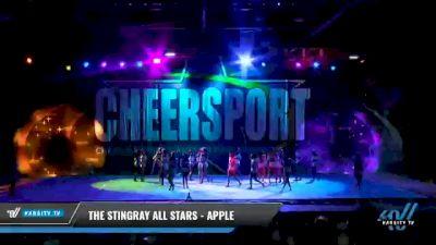 The Stingray Allstars - Marietta - Apple [2021 L6 Senior Open Day 2] 2021 CHEERSPORT National Cheerleading Championship