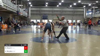 Quarterfinal - Michael Beard, Penn State Unattached vs Kyle Murphy, Bloomsburg