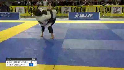 JOAO MATHEUS DE MELO ASSONITIS vs MO'OLELE H. A. CUELLAR 2021 Pan Jiu-Jitsu IBJJF Championship