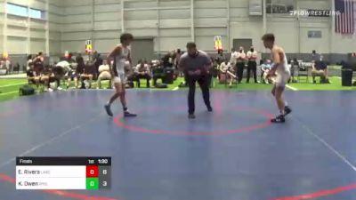 126 lbs Final - Eligh Rivera, Lake Highland Prep vs Kai Owen, Wyoming Seminary