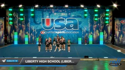 Liberty High School (Liberty) [2020 Large Varsity Show Cheer Advanced (17-20) Day 1] 2020 USA Spirit Nationals