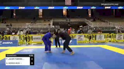 FRANCISCO JAVIER TORRES vs ANDRE GOMES REIS 2020 World Master IBJJF Jiu-Jitsu Championship