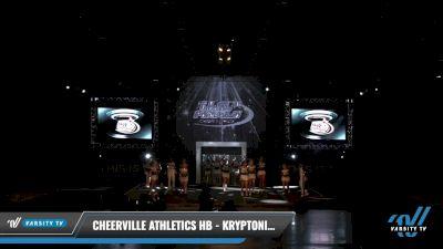 CheerVille Athletics HB - Kryptonite [2021 L3 - U17 Day 2] 2021 The U.S. Finals: Louisville