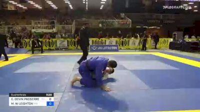 CHRISTOPHER DEVIN PASSERRELLO vs MATTHEW W LEIGHTON 2021 Pan Jiu-Jitsu IBJJF Championship