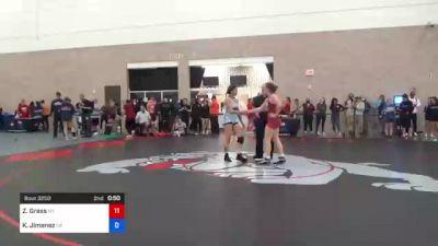 76 kg Consi Of 8 #2 - Ashley Lekas, TX vs Emily Cue, CO