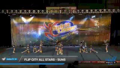 Flip City All Stars - Suns [2021 L3 Junior Day 1] 2021 South Florida DI & DII Nationals