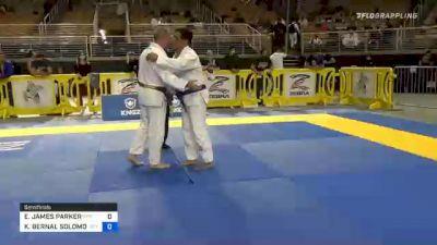 ERIC JAMES PARKER vs KENNETH BERNAL SOLOMON 2020 World Master IBJJF Jiu-Jitsu Championship