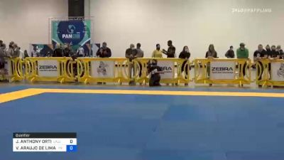 JEOVANY ANTHONY ORTIZ vs VALDIR ARAUJO DE LIMA JÚNIOR 2020 IBJJF Pan No-Gi Championship