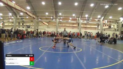Quarterfinal - Charles Lenox, NC State vs Sam Latona, VT Unattached