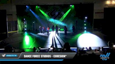Dance Force Studios - Cohesion* [2021 Youth Coed - Hip Hop Day 3] 2021 CSG Dance Nationals